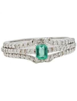 Emerald Green Ring