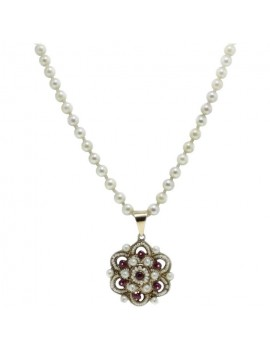 Romantic Rose Necklace