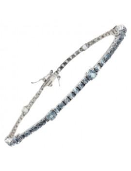 Tennis Acquamarine Bracelet