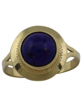 Dome Blue Ring