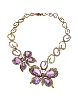 Necklace Butterflies