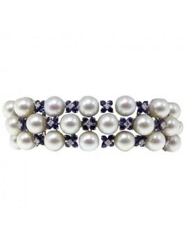 Blue Flowers Bracelet