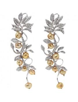 Floral Branch Earrings