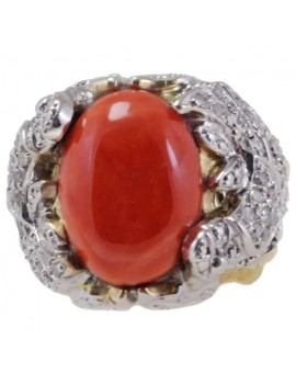 Red Dome Ring