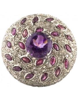 Dome Purple Ring