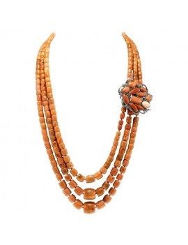 Coral Threads Necklace