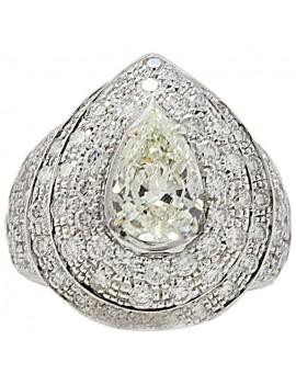 Dome Diamonds Ring