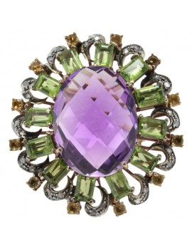 Oval of Amethyst Ring