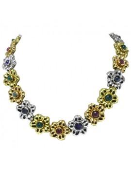 Flower Alternate Necklace