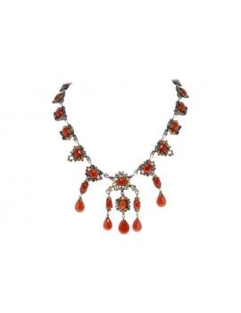 Pendants Coral Necklace
