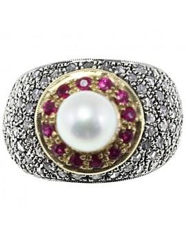 Dome Precious Ring