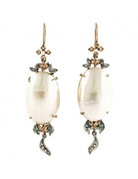 Pearl Falling Earrings