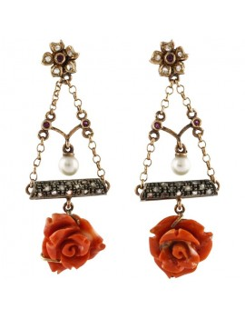 Swing Rose Earrings