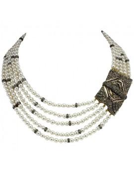 Multi-Thread Necklace