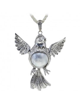 Bird Flying Pendant