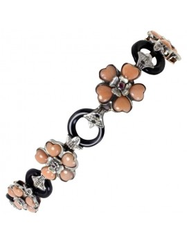 Flowers Coral Bracelet
