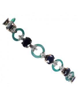 Agate Green Bracelet