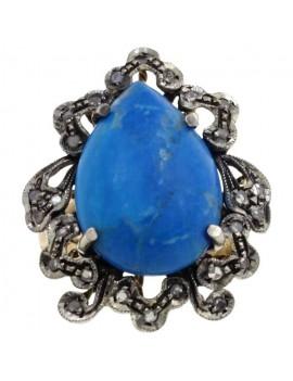 Drop Blue Ring