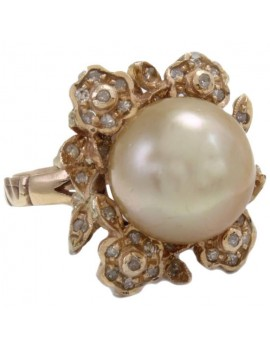 Flower of Pearl Ring