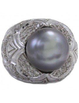 Dome of Pearl Ring
