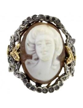 Cameo Precious Ring