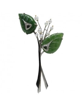 Branch Floral Brooch