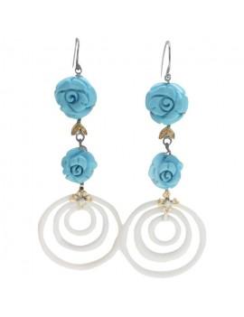 Hanging Roses Earrings