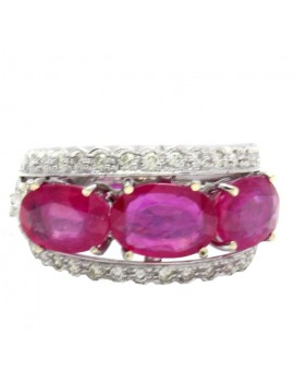 Band Rubies Ring