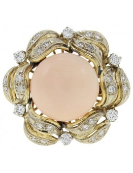 Dome Pink Ring