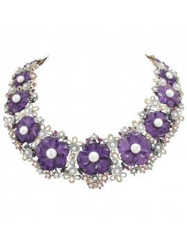 Violet Necklace