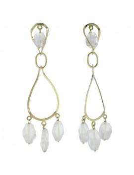 Crystal Pendent Earrings