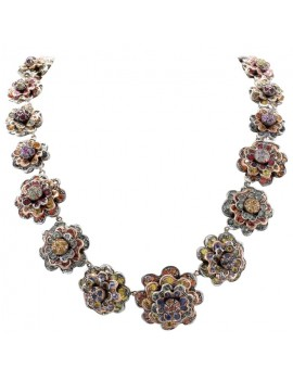 Romantic Flowers Necklace