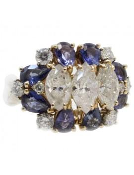 Retro Sapphire Ring