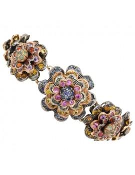 Multi Flowers Bracelet