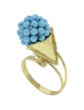 Cornucopia Blue Ring