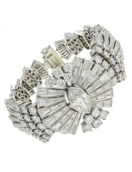 Ray of Platinum Bracelet