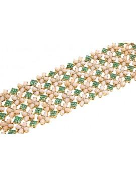 Band Flowered Bracelet