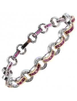 Retro Circle Bracelet