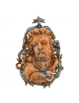 Face of Angelic Pendant
