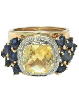 Record Sapphires Ring
