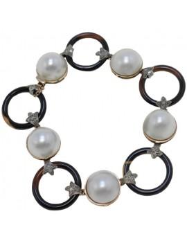 Alternate Circles Bracelet