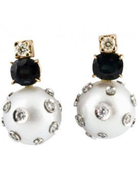 Bomb Pearl Earrings