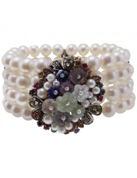 Romantic Flowers Bracelet