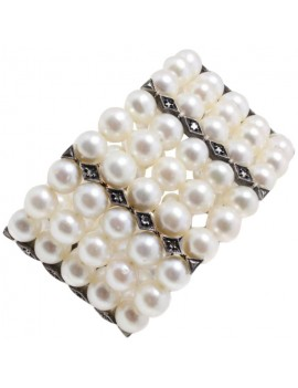 Pearl Band Bracelet
