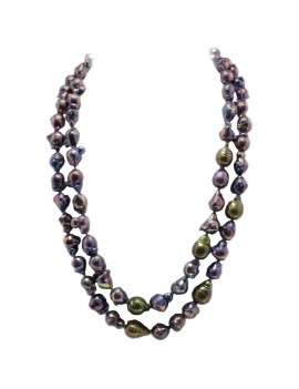 Dark Pearls Necklace